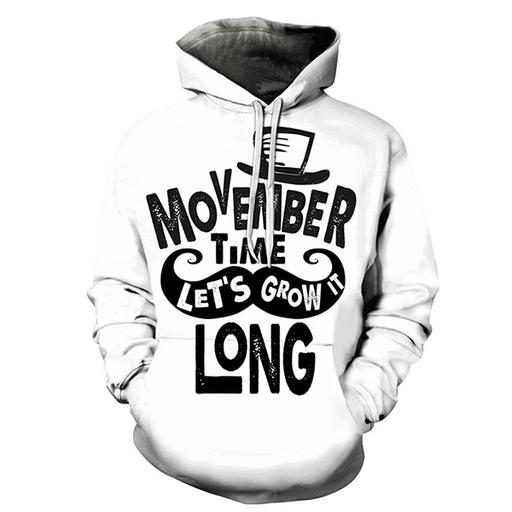 3d Let Us Grow It Hoodie - Sweatshirt- Hoodie- Pullover