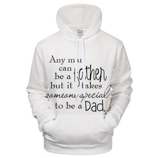 Special Dad 3d Sweatshirt Hoodie Pullover