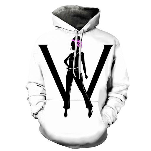 W For Women 3d - Sweatshirt- Hoodie- Pullover