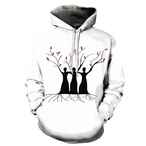Women- Tree Of Life 3d - Sweatshirt- Hoodie- Pullover