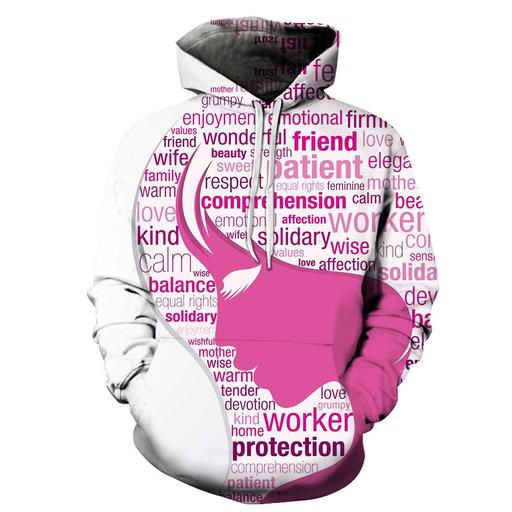 Wonderful Women 3d - Sweatshirt- Hoodie- Pullover