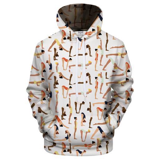 Yoga Is Life 3d Sweatshirt Hoodie Pullover