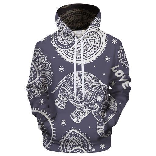 Yoga Sincerity 3d Sweatshirt Hoodie Pullover